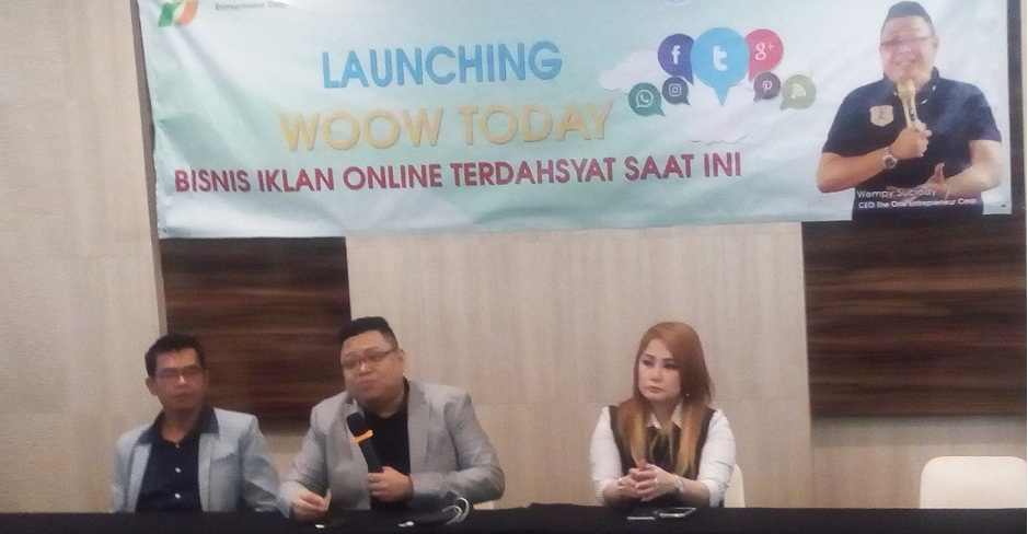 Agensi iklan online nomor 1 di Indonesia, The One Holdings luncurkan Woow Today