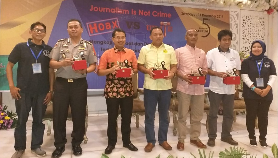 "Pokja Wankum gelar Seminar ""Journalism Is Not Crime-Hoax Vs UU ITE"""
