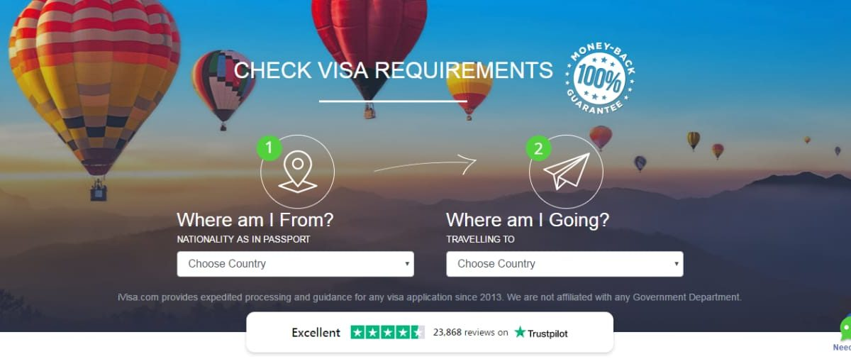 The electronic visa and the simplified visa application process