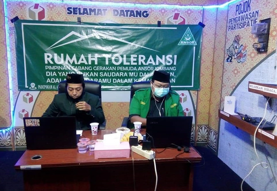 Launching lembaga cyber dan digital media, PC GP Ansor Jombang siap jaga Ulama di dunia maya